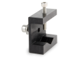 V sample holder with clamping screw: Ø 24 mm maxi
